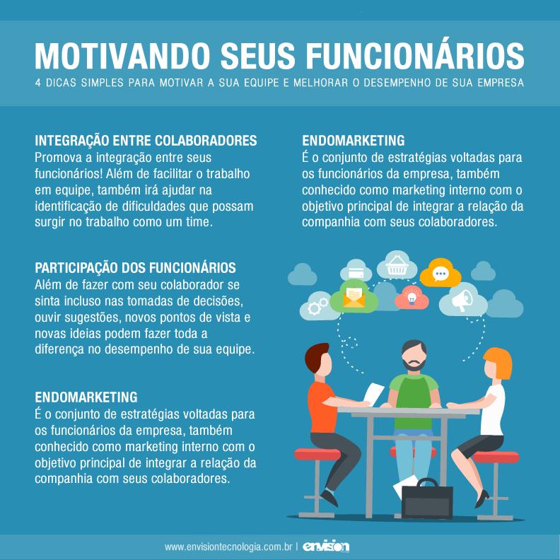 Muitas vezes Motivando seus funcionários – 4 dicas simples para motivar a sua  DB91